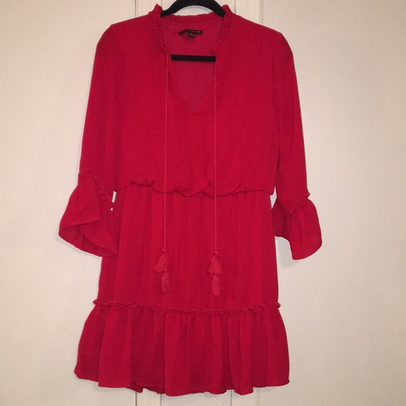 City Triangles Dresses & Skirts - Super cute red dress.